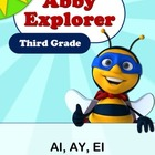 Abby Explorer Phonics - Third Grade: Letter Ai, Ay, and Ei Series