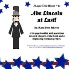Abe Lincoln at Last! - A novel study booklet for Magic Tre