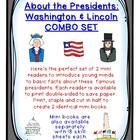 About the Presidents COMBO set: Washington & Lincoln mini