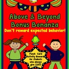 Above &amp; Beyond Bonus Bonanza