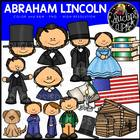 Abraham Lincoln Clip Art Bundle