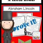 Abraham Lincoln.: A Close Read
