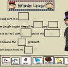 Abraham Lincoln Freebie for Smartboard