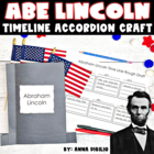 Abraham Lincoln Timeline Accordion Craftivity - Common Cor