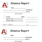 Absence report