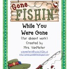Absent Folder- Gone Fishin'