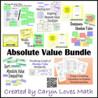Absolute Value Bundle~6 Activities~Differentiation~Equatio