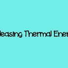 Absorbing and Releasing Thermal Energy Lab PPT