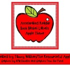 Accelerated Reader Book Basket Labels- Apple Theme (Freebie)