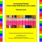 Accelerated Reader Color-Coded AND Book Level Labels