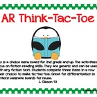 Accelerated Reader Think-Tac-Toe Choice Board (2-3)