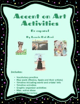 Accent on Art Activities  - Todo en Español