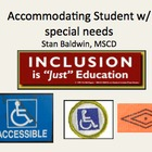 Accomidating Students w/ Disabalities, Disability Social R