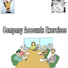 Accounting and Finance Limited Company Accounts Exercises