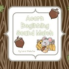 Acorn Beginning Sound Match