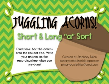 "Acorn Sort: Short and Long ""A"""