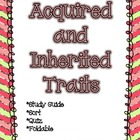 Acquired and Inherited Traits Packet *Quiz, Activity, &amp; St