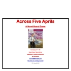 Across Five Aprils Board Game
