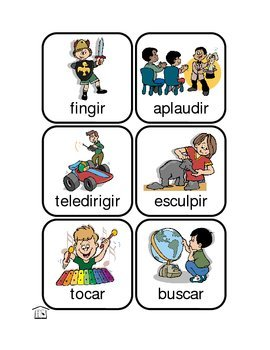 Action Kids - Spanish Verbs