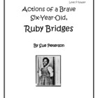 Actions of a Brave Six-Year Old, Ruby Bridges
