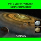 ActivInspire Unit V Lesson IV Review &quot;Solar System Debris&quot;