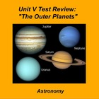 ActivInspire Unit V Test Review &quot;The Outer Planets&quot;