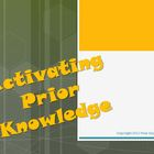 Activating Prior Knowledge Reading Strategy PowerPoint