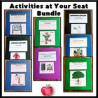 Activities At Your Seat Bundle.