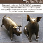Activities and Handouts for The Pigman by Paul Zindel