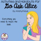 Activities and Handouts for the book Go Ask Alice