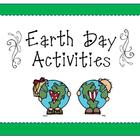 Activities for Earth Day