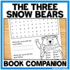 Activities for Jan Brett&#039;s &quot;The Three Snow Bears&quot;