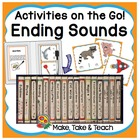 Activities on the Go!- Ending Sounds
