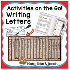 Activities on the Go!- Writing Letters