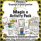 Response to Intervention- Activity Pack for Magic e
