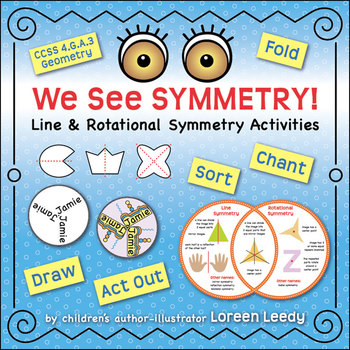 Activity Pack for Seeing Symmetry book by Loreen Leedy