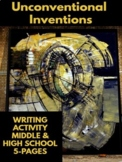 """Writing & Thinking Activity - """"Unconventional Inventions"""""""