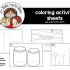 Activity Sheets for Out and About