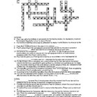 Acts of the Apostles Crossword Puzzle - Journey of St. Paul