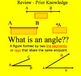 Acute, Obtuse, and Right Angle Math Smartboard Lesson