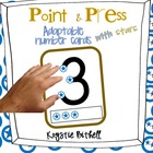 Adaptable Point and Press Number Cards with Stars  1-9