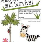 Adaptations &amp; Survival Packet for Science!