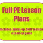 Adapted Physical Education - Full Lesson Plan -Special Education