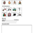 Adapted writing for students with Autism (picture supports)