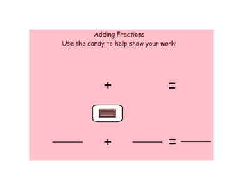 Add and Subtract Fractions with Manipulatives