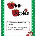 Addin' Apples: Adding Three-Digit Numbers