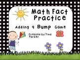 Adding 9 Bump Math Fact Game