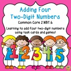 Adding Four Two-Digit Numbers - Common Core 2.NBT.6