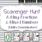 Adding Fractions and Mixed Numbers (Un-like Denominators)
