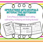 Adding, Subtracting, Multiplying + Dividing Decimals Inter